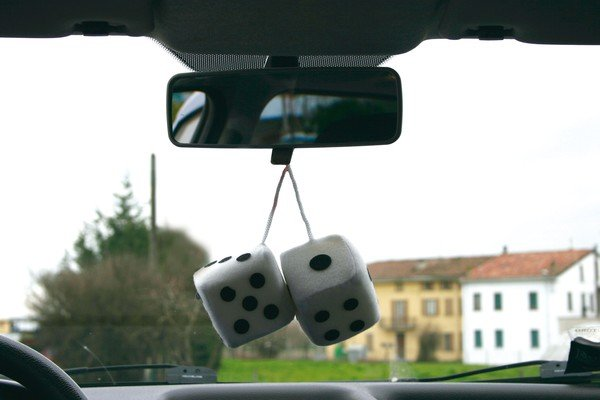 Car Cube blanc
