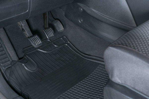 Tapis de voiture en caoutchouc Easyfit 4 pcs. taille 1