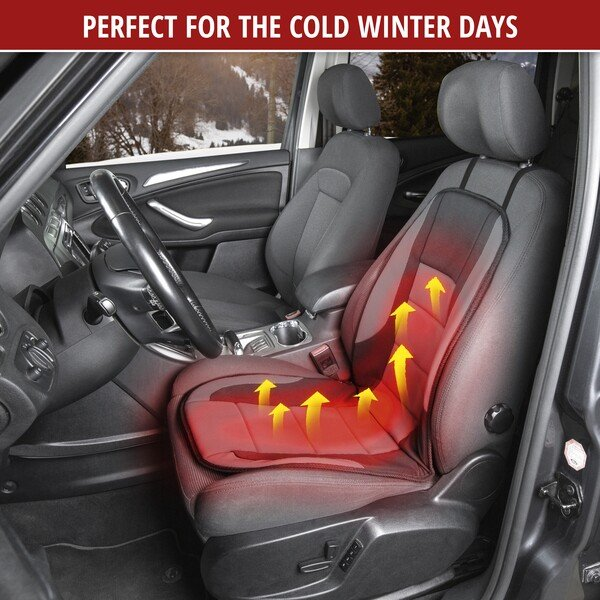 Heating Pad, Seat Heating Car Seat Hot Stuff black-grey