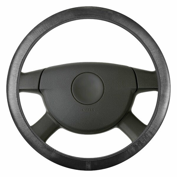 Lenkradhülle Soft Grip Canvas - 38 cm schwarz