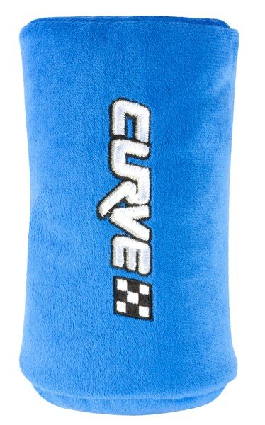 Mini sleeping pillow Curve blue from 3-4 years