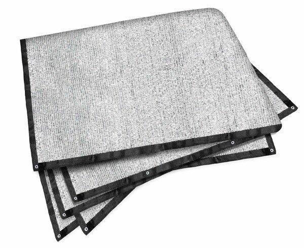 Sonnenschutznetz Stay Cool silber Aluminium 4x6m
