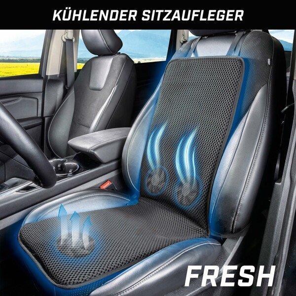 Sitzauflage Fresh mit Kühlfunktion, Ventilatoren und atmungsaktivem Material