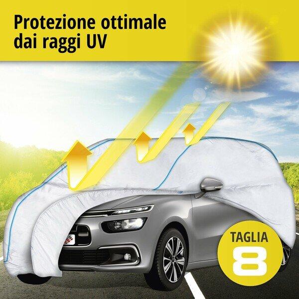 Telone protettivo Sun Reflect dimensioni 8 argento