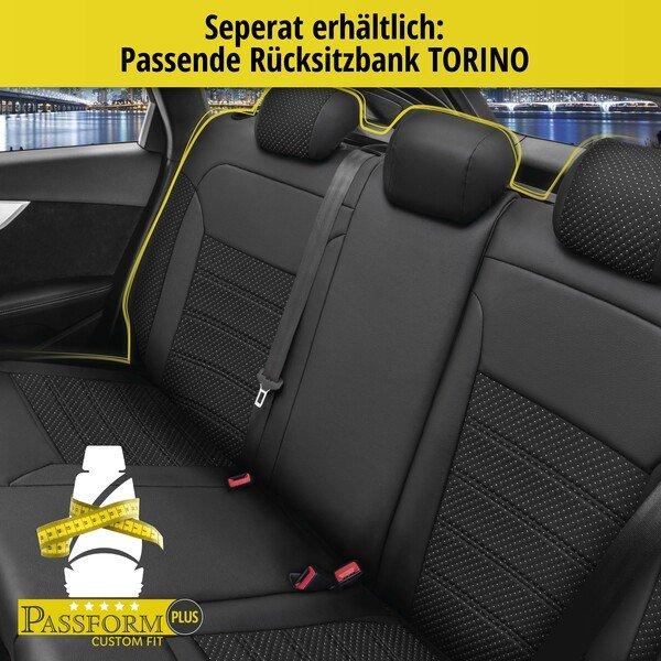 Sitzbezug 'Torino' für Fiat 500L Baujahr 2013 bis heute - 2 Sitzbezüge für Normalsitze