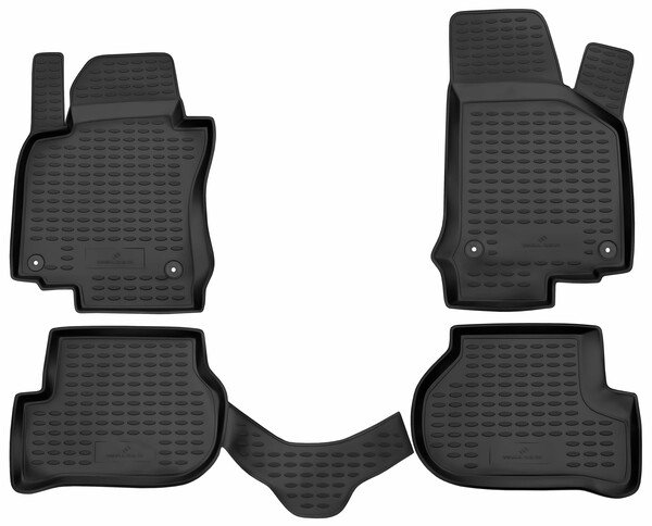 XTR rubber mats for VW Golf 5 year 2003-2009, Golf 5 Variant year 2007-2009