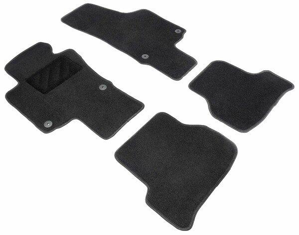 Fußmatten für VW Scirocco 05/2008-11/2017, Golf VI 10/2008-12/2014, Jetta IV 01/2008-Heute
