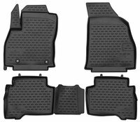 XTR rubber mats for Fiat Fiorino (225) year 01/2007 - Today