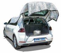 Filet de protection solaire Walser Stay Cool argent aluminium 4x6 m