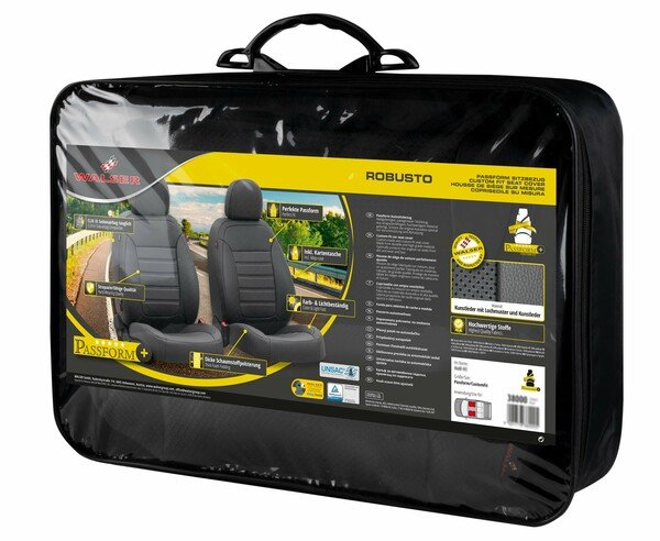 Seat cover Robusto for Opel Insignia A SportsTourer year 07/2008-03/2017, 2 seat covers for normal seats