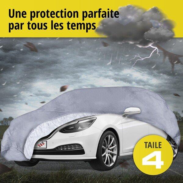 Bâche pour voiture All Weather Premium taille 4 grise