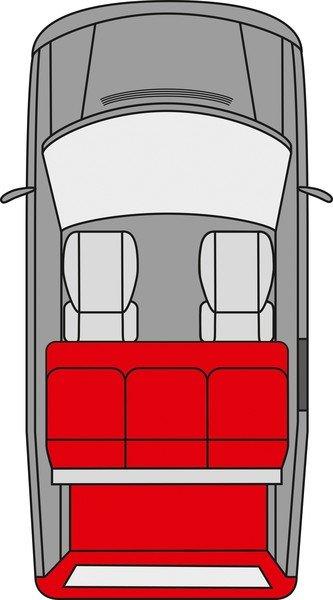 Kofferraum Schondecke Modulo Claudius graphit