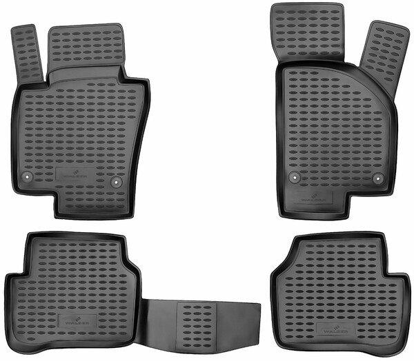 XTR rubber mats for VW Passat (B7) year 2010 - 2015, Passat Variant year 2010 - 2015, Passat Alltrack year 2012 - 2014