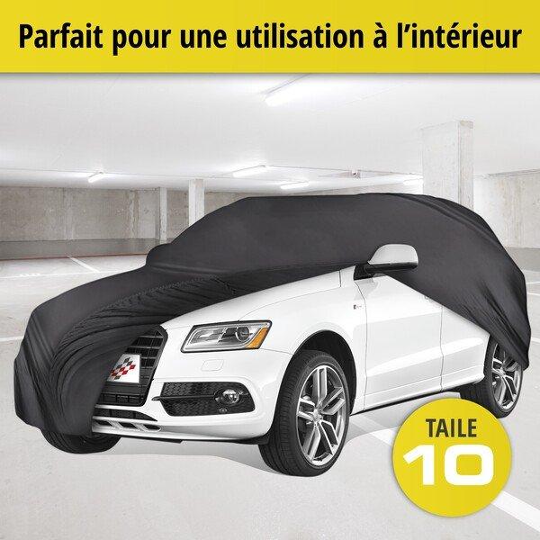 Bâche pour voiture d'intérieur Soft size 10 noir