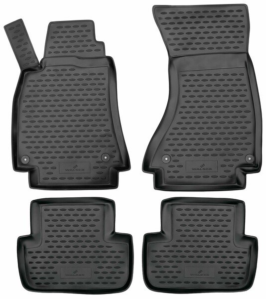 XTR rubber mats for mit Audi A4 year 08/2007 - 12/2015, A4 Avant year 11/2007 - 12/2015, A4 Allroad 04/2009 - 05/2016