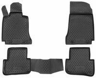 XTR rubber mats for Mercedes-Benz C-Class (W204) year 01/2007 - 01/2015, C-Class (S204) year 08/2007 - 08/2014