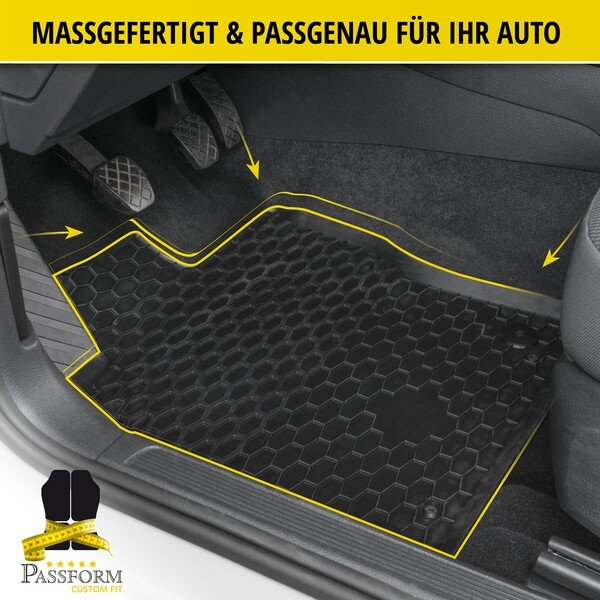 Gummimatten RubberLine für VW Touran 02/2003-05/2015