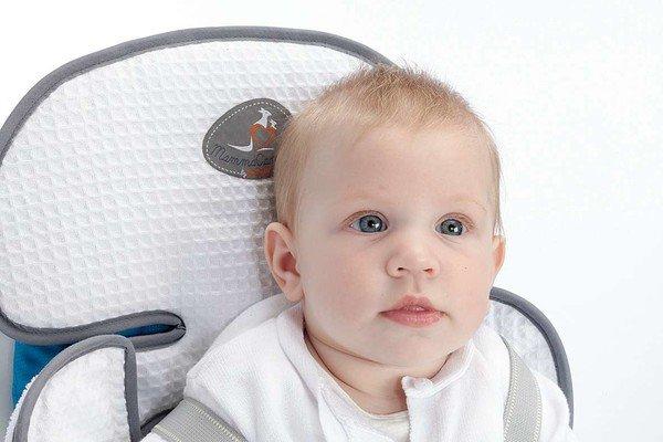 KinderPKW Sitzauflage Soffio weiss