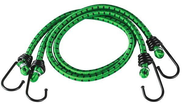 Luggage tensioner 60 cm 2 pieces green