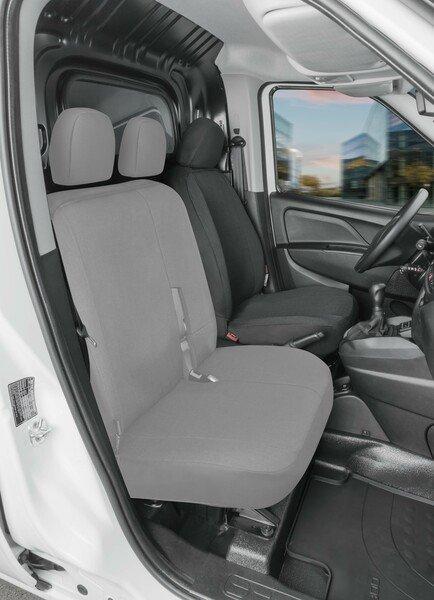 Housse de siège Transporter en tissu pour Ford Transit Connect, siège conducteur unique