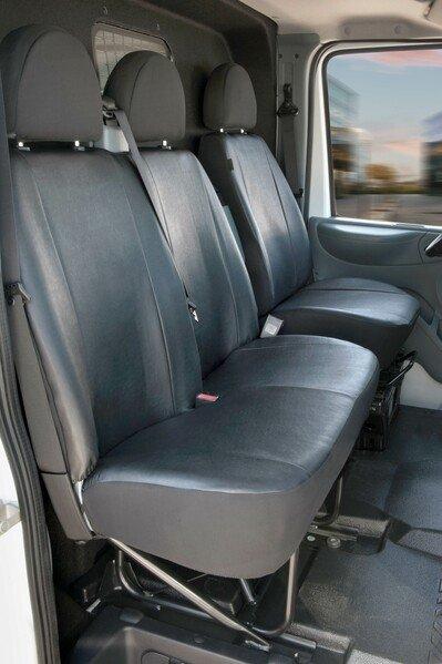 Autoschonbezug Transporter aus Kunstleder für Ford Transit, Einzel- & Doppelbank