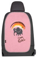 Car seat backrest protection Cool Girl pink