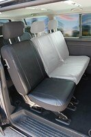 Car Seat covers for VW T5 single rear seat in imitation leather, year of contruction 04/2003-06/2015