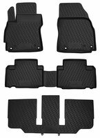 XTR rubber mats for Mazda 5, 7-seater year 06/2010 - Today