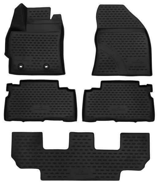 Gummimatten XTR für Toyota Verso Baujahr Facelift 2013 - 08/2018