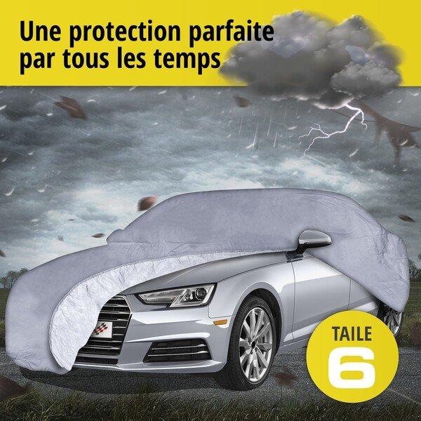 Bâche pour voiture All Weather Premium taille 6 grise