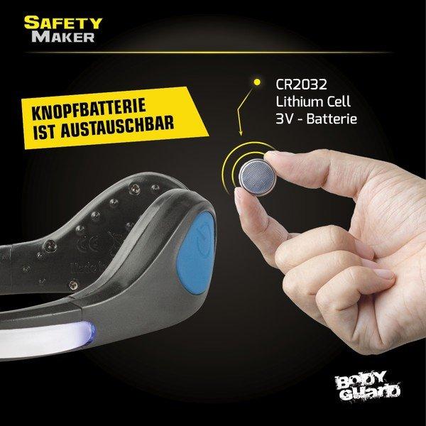 LED Schuh Clip blau