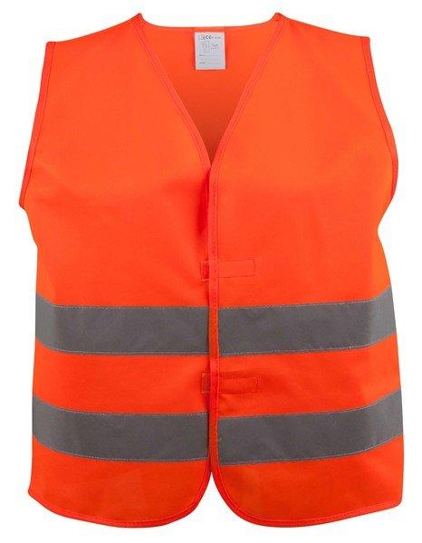 Gilet de sécurité taille XXL pour adultes Orange EN 20471/2