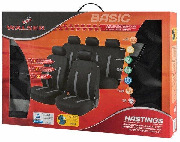 Housses de sièges Hastings grey complete set