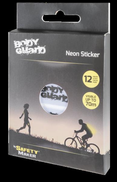 Neon sticker silver 70x20 mm