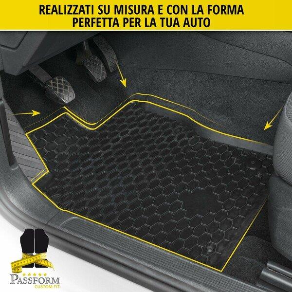 Tappetini in gomma RubberLine su misura per Peugeot 5008 II 12/2016-Oggi