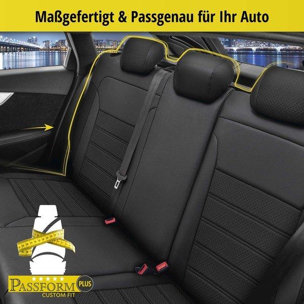 Sitzbezug 'Expedit' für Seat Leon Baujahr 2013 bis heute - 1 Rücksitzbankbezug für Normalsitze