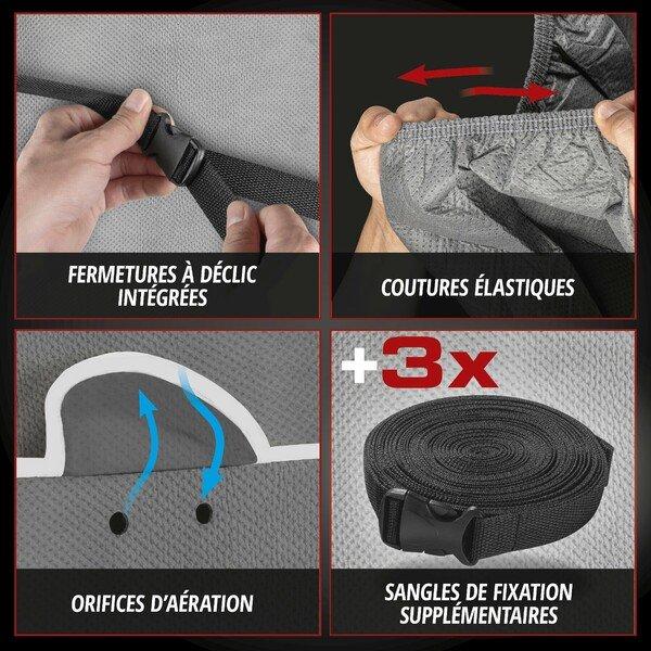 Bâches anti-grêle Hybrid UV Protect taille XL