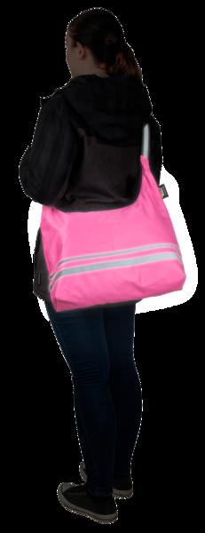 Faltbare Shoppingbag pink