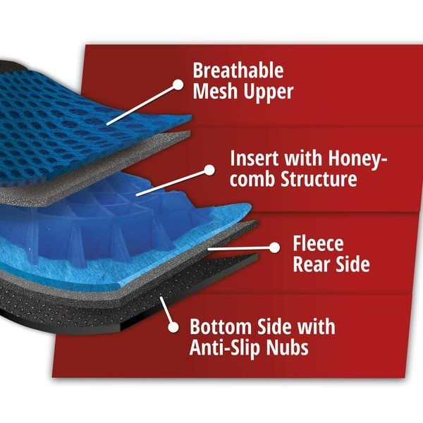 Seat cushion Cool Touch black-blue