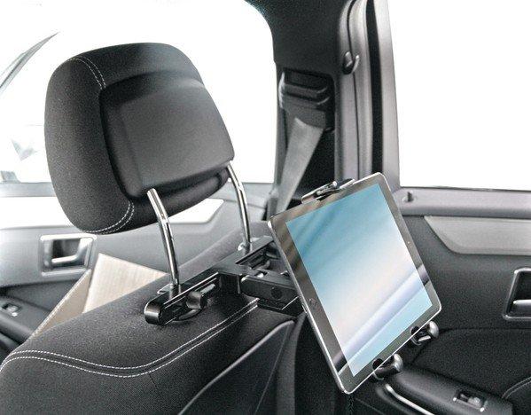 Support de tablette automatique pour appuie-tête 105-230 mm