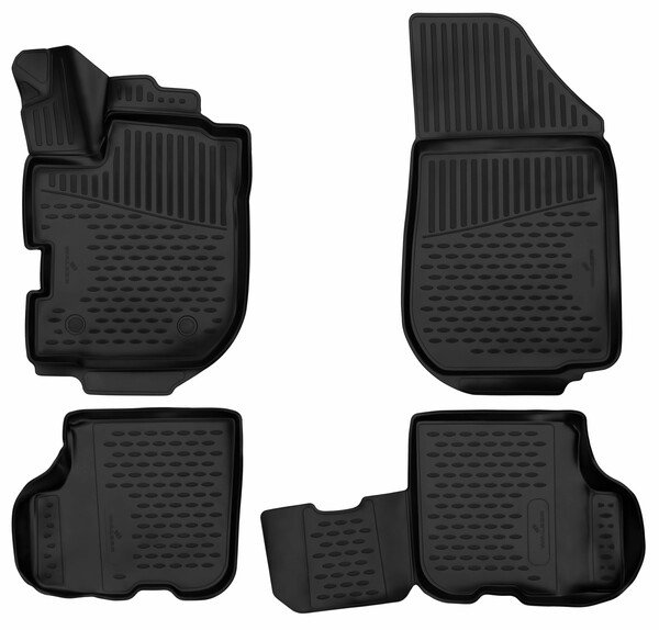 XTR rubber mats for Dacia Logan II year 10/2012 - Today