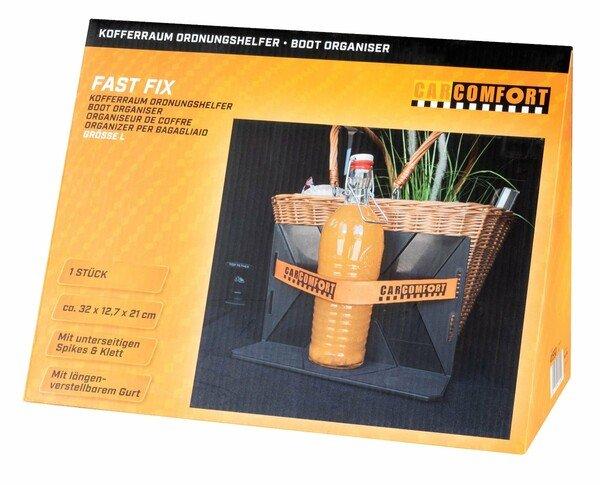 Boot organizer Fast 1x L 1x strap black/orange