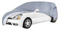Car tarpaulin All Weather Premium size 9 grey