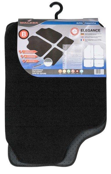 Car carpet Elegance size B black