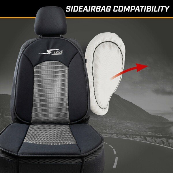 Car Seat cover S-Race anthracite
