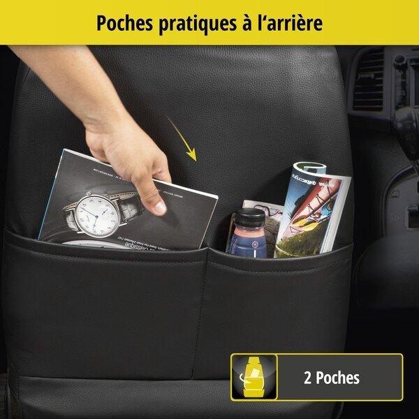 Housse de siège 'Bari' pour Audi A3 année 2012 à aujourd'hui - 2 housses de siège pour sièges sport