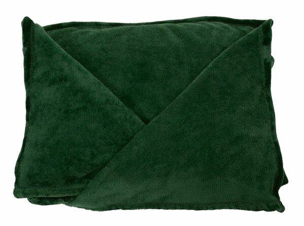 Coperta Snuggle XL con maniche verdi