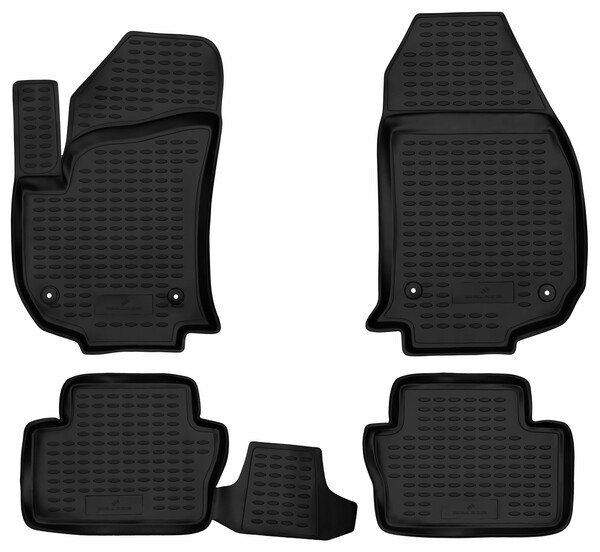 XTR rubber mats for Opel Zafira B year 07/2005 - 05/2019