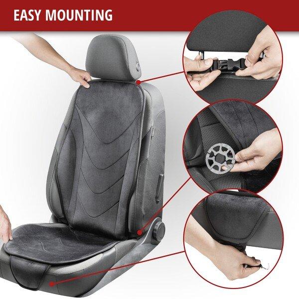 Air Flow car seat pad black