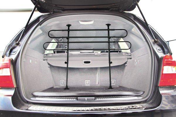 Hundegitter fürs Auto Höhe 63-110 cm schwarz/silber
